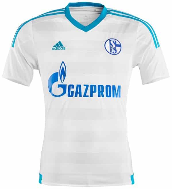 Si le maillot domicile ne change pas par rapport à la saison dernière, adidas et Schalke 04 ont dévoilé les nouveaux maillot away et third pour 2015-2016.
