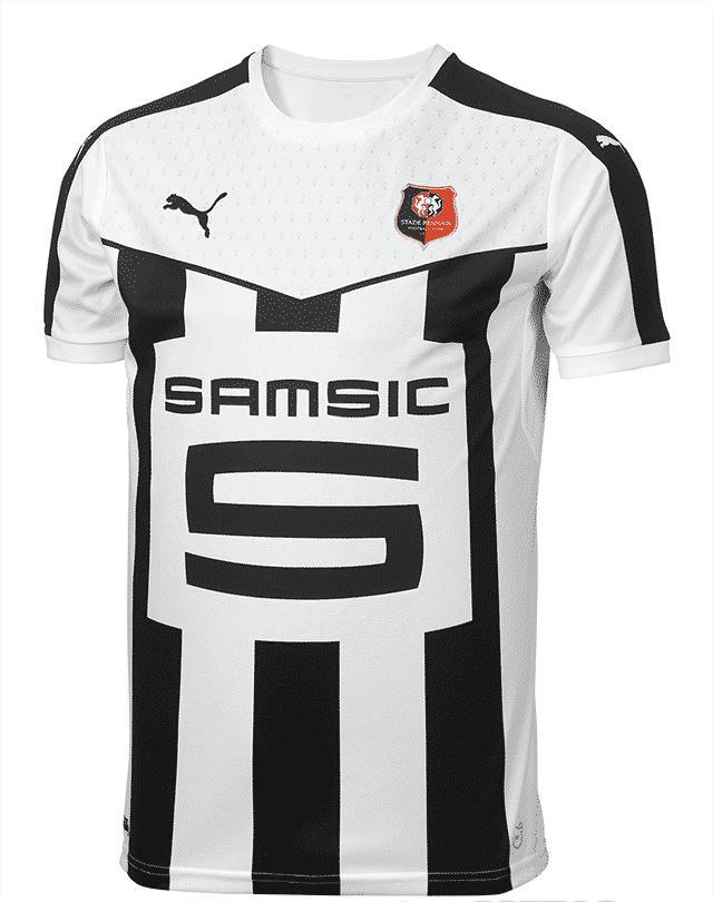 Sous contrat avec l'équipementier allemand Puma, le Stade Rennais a présenté ses nouveaux maillots pour la saison 2015-2016.