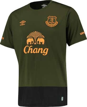 11ème du dernier championnat d'Angleterre, Everton et Umbro son équipementier viennent de dévoiler les nouveaux maillot du club pour la saison 2015-2016.