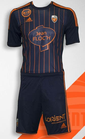 Equipé par adidas, le Football Club de Lorient vient de dévoiler ses nouveaux maillots pour la saison 2015-2016 de Ligue 1.