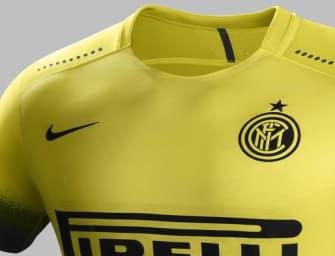 Nike dévoile les maillots 2015-2016 de l'Inter Milan