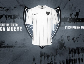 Les maillots 2015-2016 de Malaga par Nike