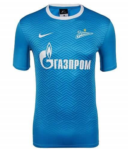 Champion de Russie en titre, le Zénith Saint-Pétersbourh du brésilien Hulk vient de dévoiler avec Nike son équipementier ses maillots pour 2015-2016