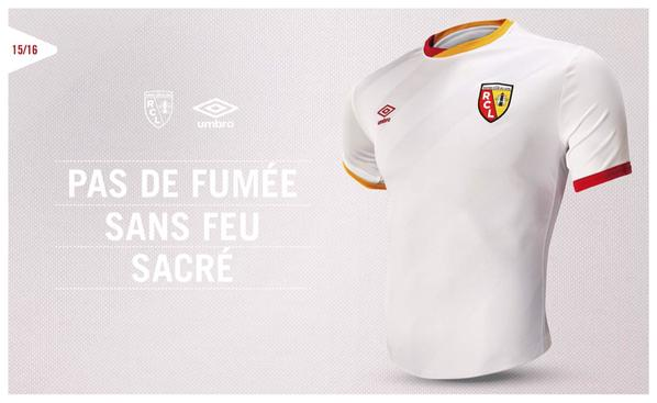 Maillot RC Lens 2015-2016 - Umbro