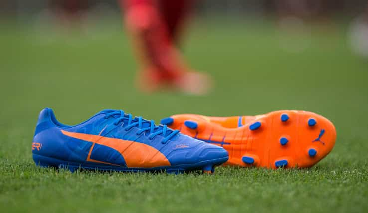 chaussure-puma-evopower-orange-bleu-2015-2016