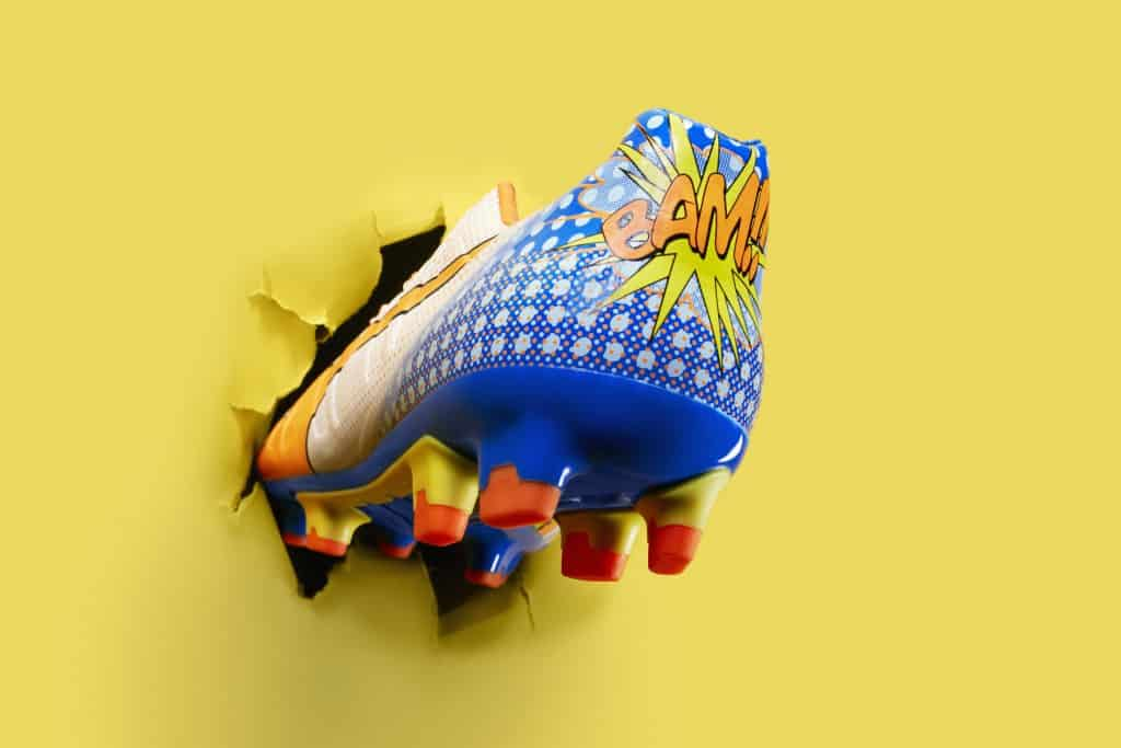 chaussure-football-puma-evoPOWER-pop-art-cartoon-2-min