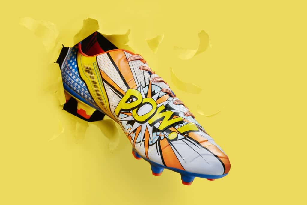 chaussure-football-puma-evoPOWER-pop-art-cartoon-min