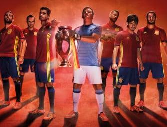 Les crampons des 23 Espagnols pour l'Euro 2016