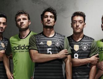 adidas dévoile les maillots de l'Allemagne pour l'Euro 2016