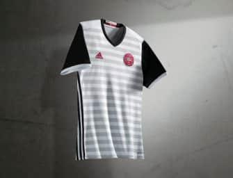 adidas dévoile les nouveaux maillots du Danemark pour l'Euro 2016