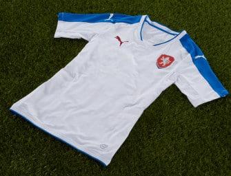 Puma dévoile les maillots de la République Tchèque pour l'Euro 2016
