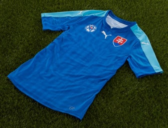 Les maillots de la Slovaquie pour l'Euro 2016 par Puma