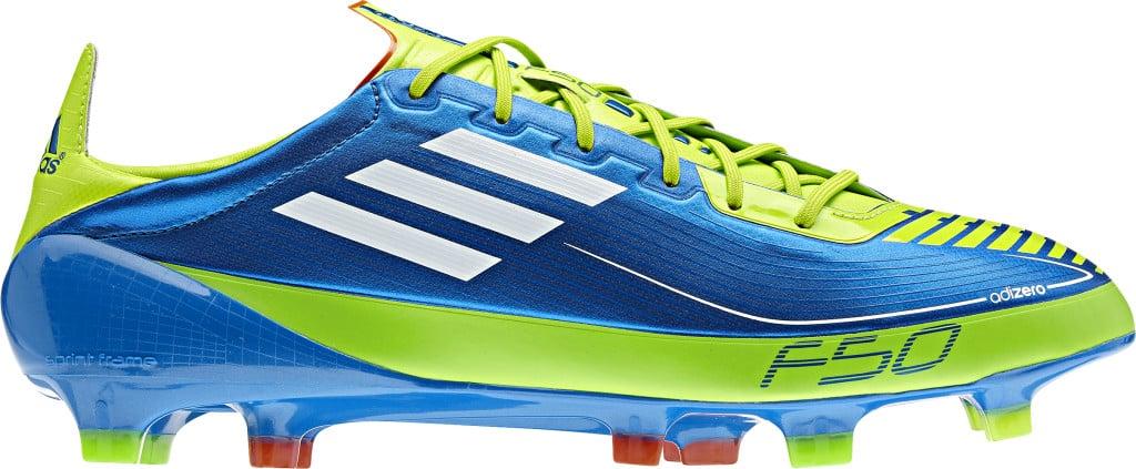Adidas adiZero f50 Blue_White_Slime - Benzema