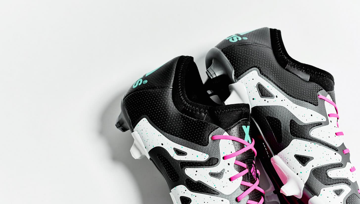 chaussure-football-adidas-x-noir-blanc-argent-2