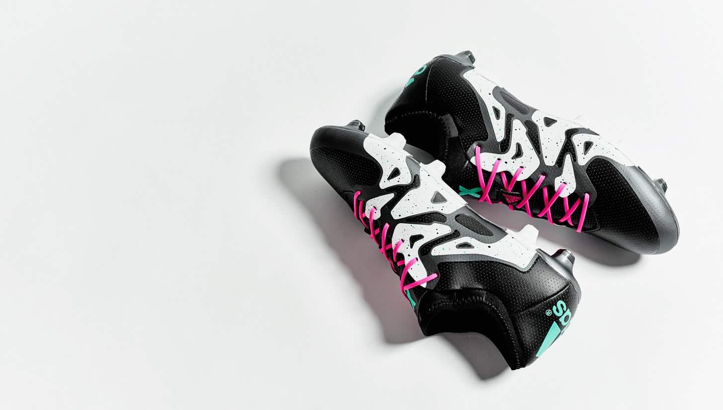chaussure-football-adidas-x-noir-blanc-argent-2015