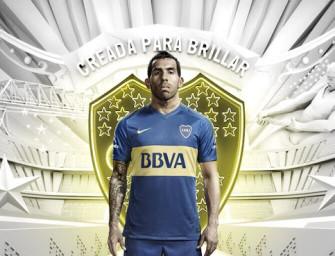 Le maillot domicile 2016 de Boca Juniors par Nike