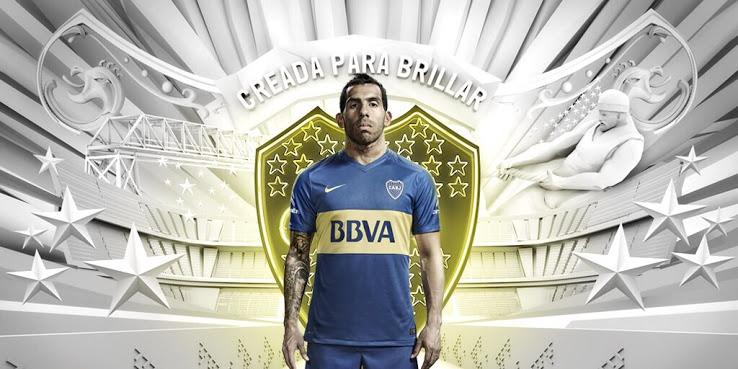 Champion d'Argentine en titre, Boca Juniors et Nike viennent de dévoiler la nouvelle tenue du légendaire club de Buenos Aires pour 2016.