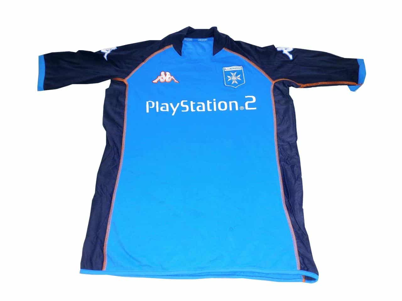 maillot-football-playstation-2-aj-auxerre