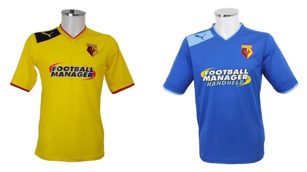 maillot-football-watford-football-manager