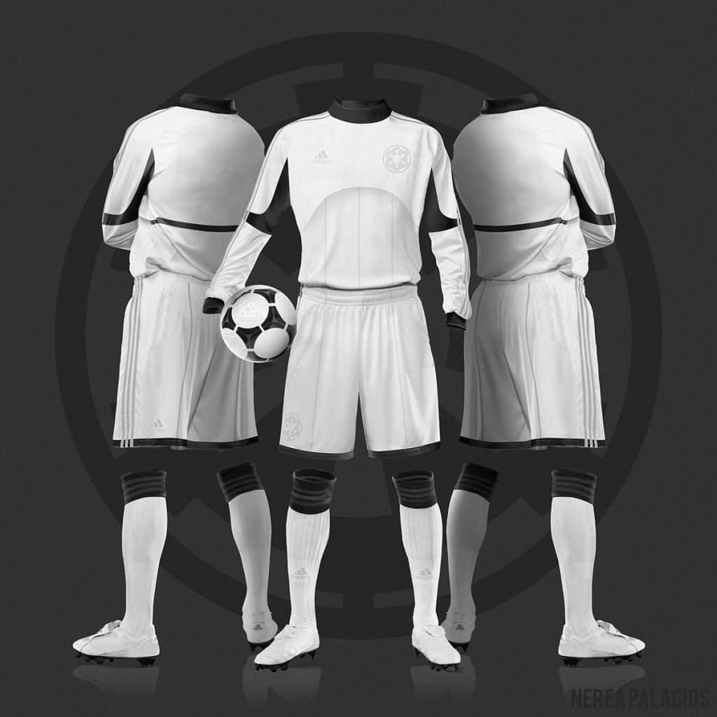 A l'occasion de la sortie du nouvel épisode de Star Wars, le réveil de la Force, découvrez ce que cela donnerait si Star Wars rencontrait le football
