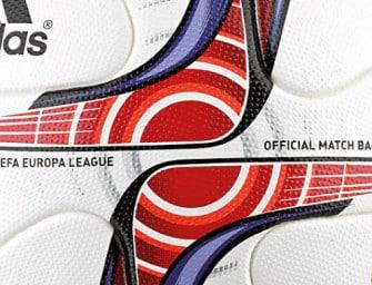 adidas dévoile le ballon de l'Europa League pour 2016-2017