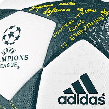 Pour la nouvelle édition de la Ligue des Champions, adidas qui est l'équipementier officiel de la compétition présente le nouveau ballon officiel.