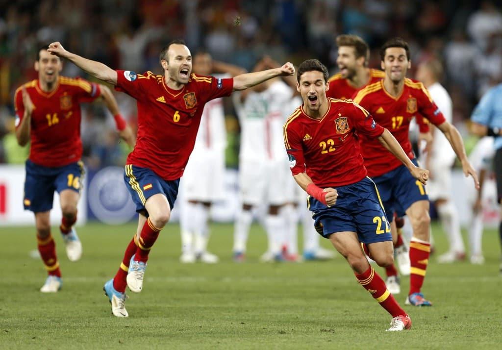 Les maillots de foot des vainqueurs de l 39 euro - Championnat espagnol coupe du roi ...