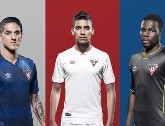 Les maillots 2016 des clubs d'Amérique du Sud
