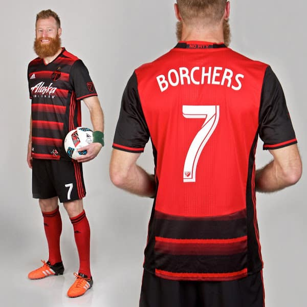 Maillot Portland Timbers 2016