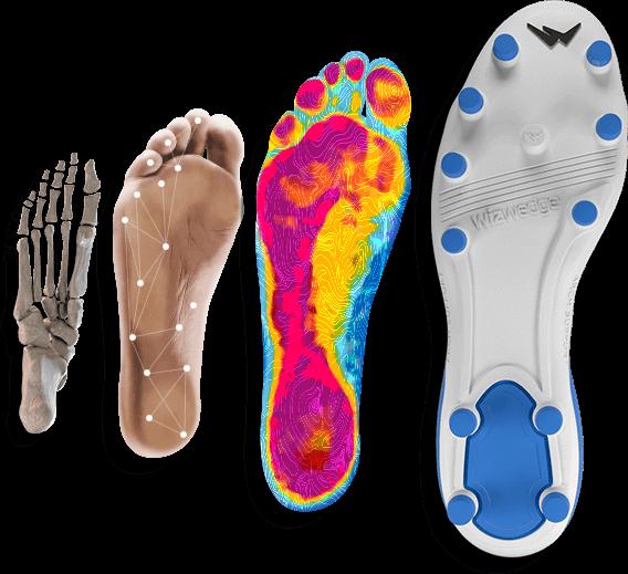 Wizwedge chaussures foot