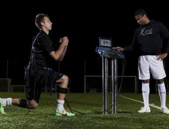 On a testé E-Fit : un accessoire atypique pour les footballeurs
