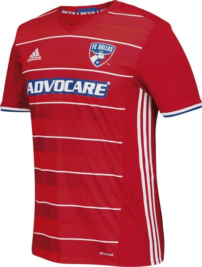 Maillot FC Dallas 2016 - MLS