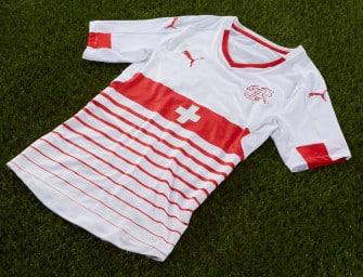 Puma présente les maillots de la Suisse pour l'Euro 2016