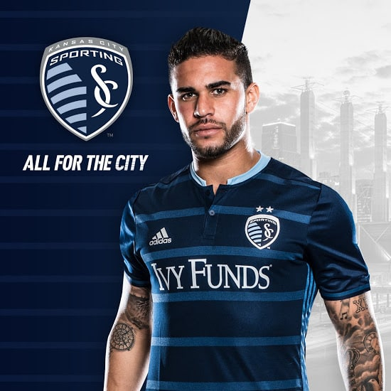 Maillot Sporting Kansas City MLS 2016