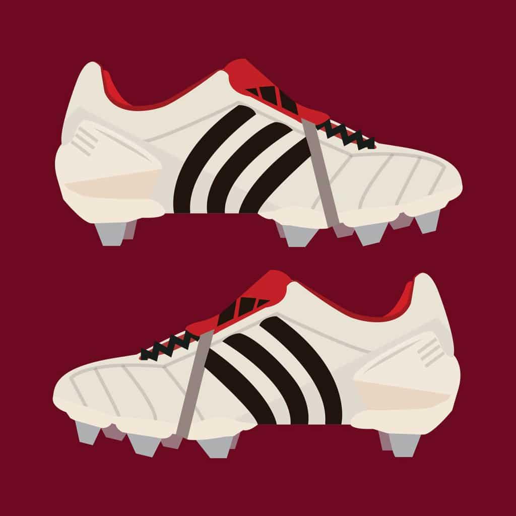 Illustration-Jordan-Budd-chaussure-football-adidas-predator-mania-blanc