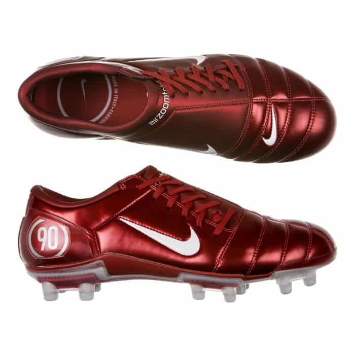 chaussure-football-nike-air-zoom-total-90-III-rouge