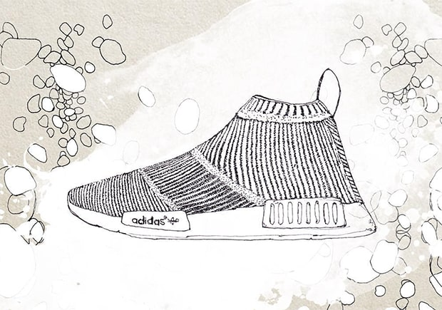 adidas nmd drawing