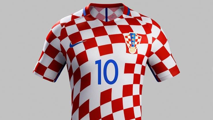 Maillot Croatie Euro 2016