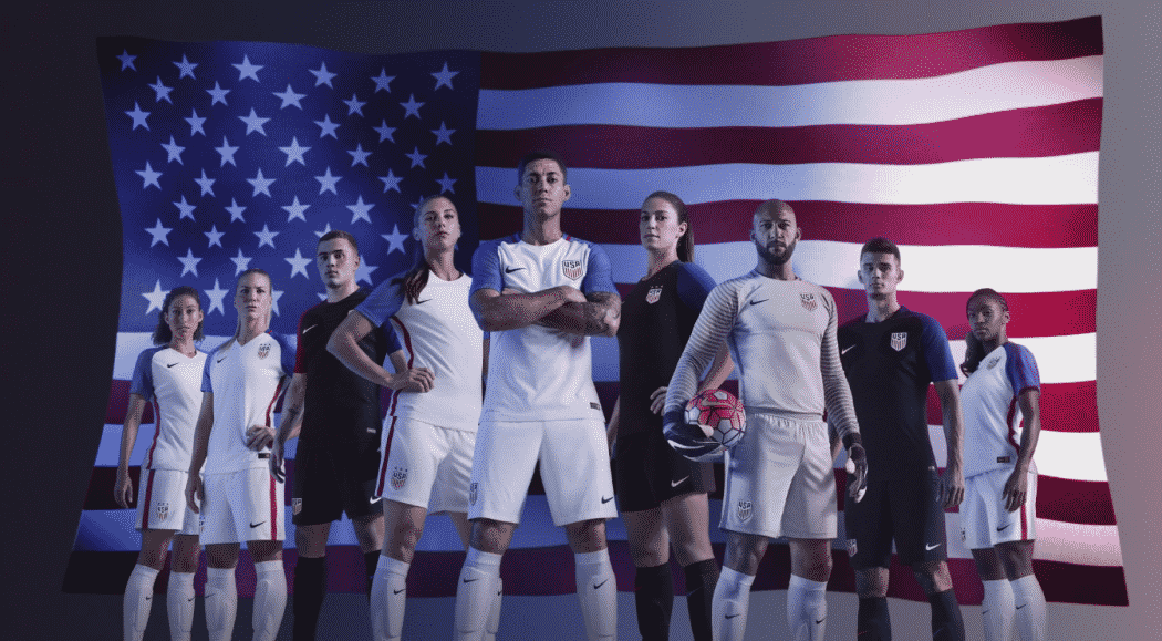 nike air force 1 forza ultra - Nike d��voile les maillots des Etats-Unis - Copa Am��rica 2016