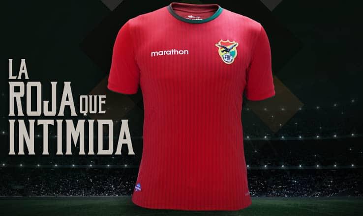 Maillot Bolivie Copa América Centenario 2016