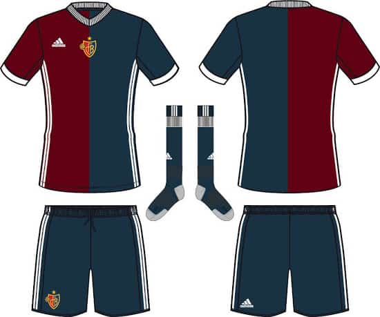 Maillot FC Bâle 2017-2018