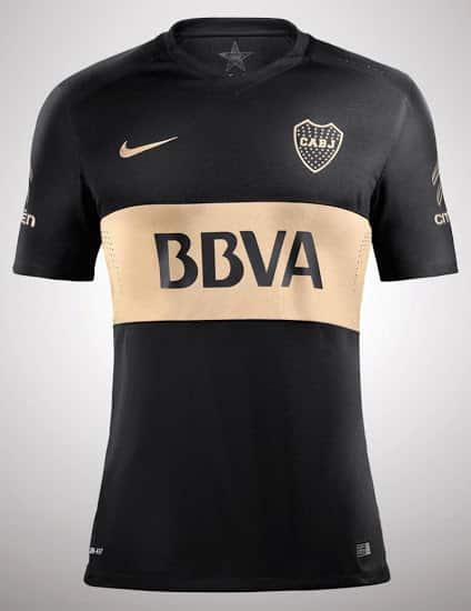 Après avoir dévoilé ses nouvelles tenues domicile et extérieure, le mythique club de Boca Juniors vient de présenter sa nouvelle tenue third 2016-2017