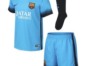 Baby Mini-Kit Third FC Barcelone 2015/2016