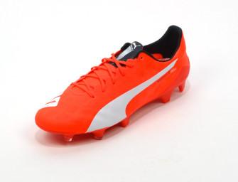 Chaussures Puma Evospeed SL FG rouge