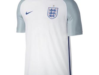 Maillot Authentique Domicile Angleterre Euro 2016
