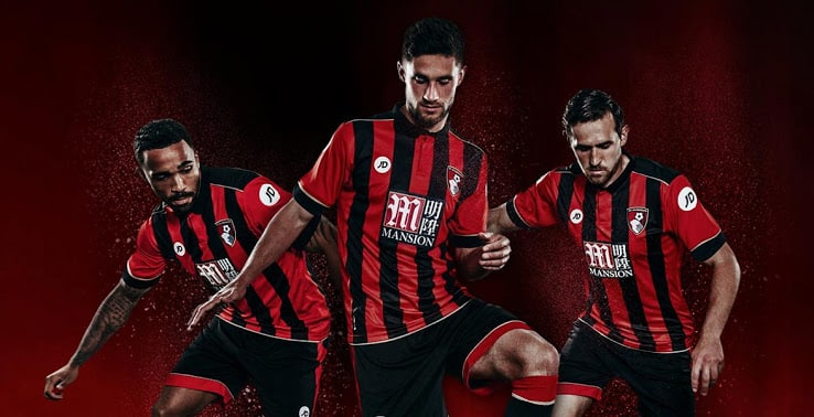 Maillot AFC Bournemouth 2016 2017