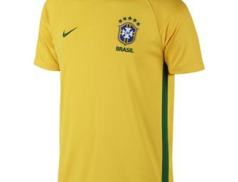 Maillot Domicile Brésil 2016