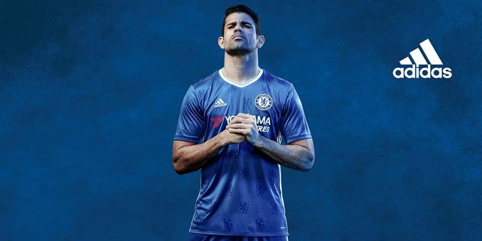 adidas dévoile le maillot domicile 2016-2017 de Chelsea