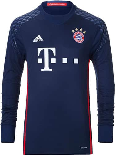 maillot-domicile-gardien-bayern-munich-2016-2017