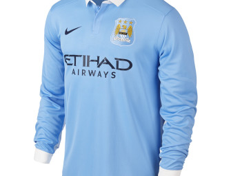 Maillot Domicile Manchester City ML FC 2015/2016
